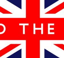 Mind The Gap UK Flag Sticker