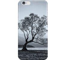 Lone tree Lake Wanaka iPhone Case/Skin