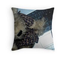 I Would Like My Laptop Back Please! Throw Pillow