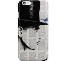 top hat iPhone Case/Skin