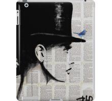 top hat iPad Case/Skin