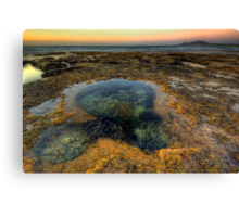 Green Point, Rockpools & The Mount Canvas Print
