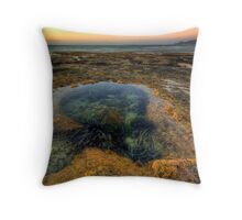 Green Point, Rockpools & The Mount Throw Pillow
