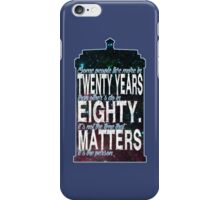 It's the Person iPhone Case/Skin