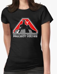 Project Voltes Dev Team Tee (White Text) Womens Fitted T-Shirt