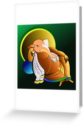The lazy Genius, Prof. Ganesha  :) by tandoor