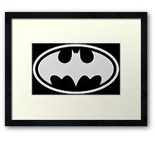 Batman logo relative Framed Print