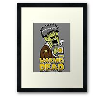 The Waking Dead Framed Print