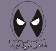 Heros - Deadpool's Head (Any Colour) Kids Clothes