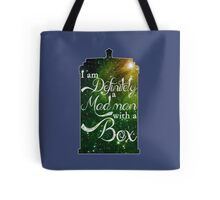 I am definitely a mad man with a box... Tote Bag