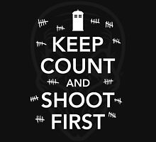 Keep Count and Shoot First Unisex T-Shirt