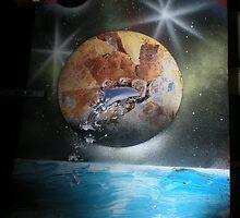 First dolphin spray by SuperSprayer
