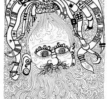 Rastaman dodle by GeorgeDreadx