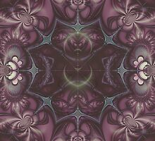 Kaleidoscope Rose by Julie Shortridge