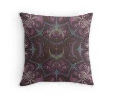 Kaleidoscope Rose Throw Pillow