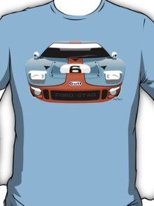 Ford GT40 Gulf colours T-Shirt