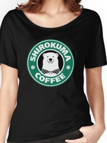Shirokuma Coffee Women's Relaxed Fit T-Shirt