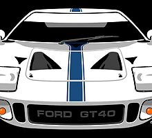 Ford GT40 by car2oonz