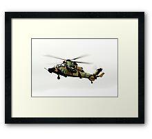 Eurotiger  Helicopter Framed Print