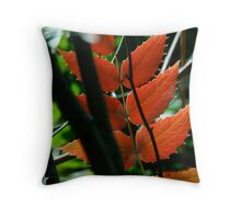 Oregon Grape Throw Pillow
