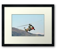 Westland  Wessex  Helicopter Framed Print