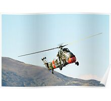 Westland  Wessex  Helicopter Poster