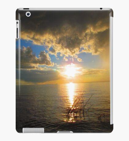 Sunset over Slave Lake iPad Case/Skin
