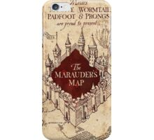 Harry Potter The Marauders Map iPhone Case/Skin