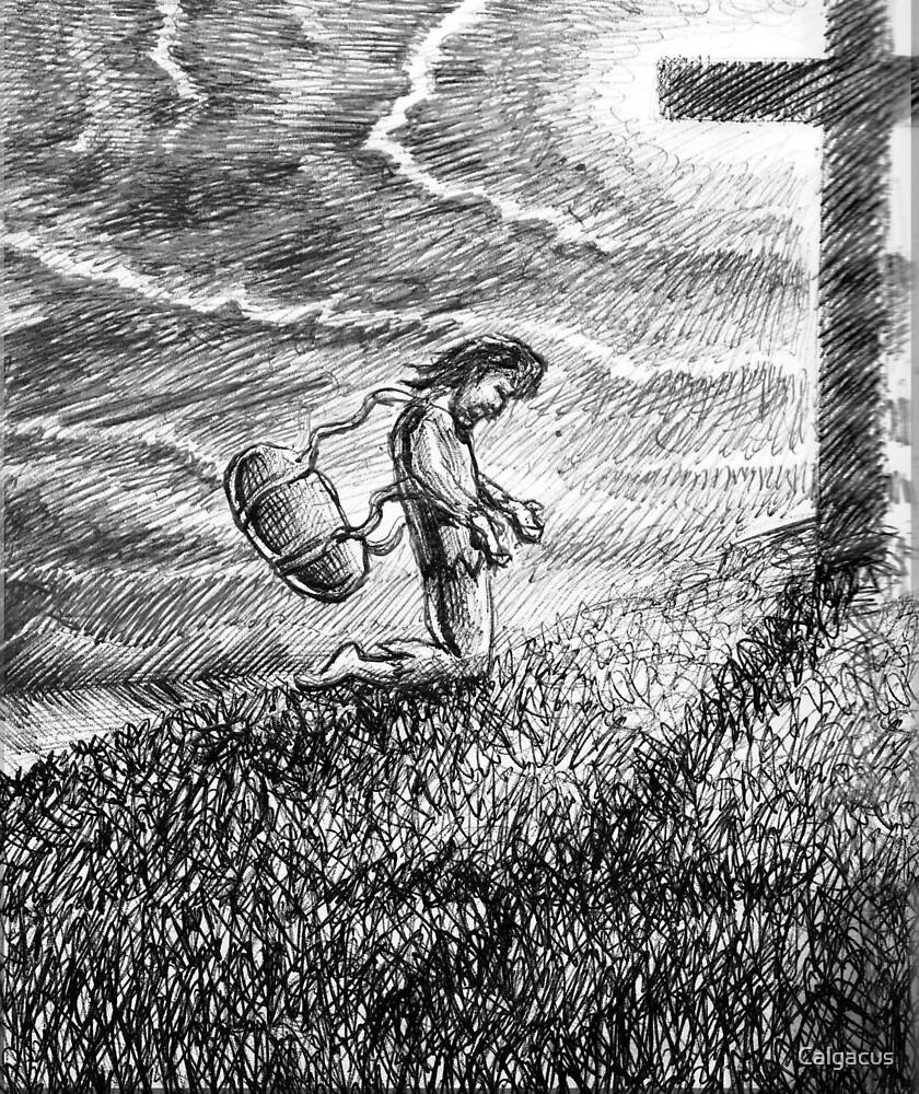 burden loosed by Calgacus