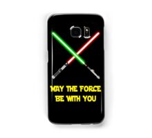 May the force be with you-star wars fanart Samsung Galaxy Case/Skin