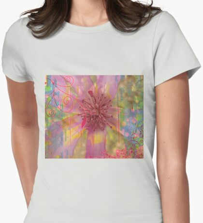 Colors of Spring Womens Fitted T-Shirt