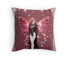 The Burlesque Fairy Throw Pillow