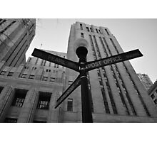Crossroads Photographic Print