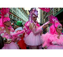 Pink Powder Puffs Photographic Print