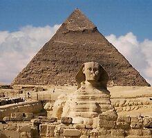 Sphinx Gisa Egypt by ishtarsands
