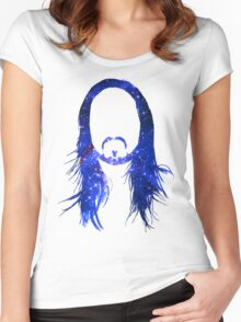 Steve Aoki Universe  Women's Fitted Scoop T-Shirt