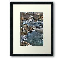 Culag Bridge Framed Print