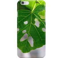 Not a happy leaf iPhone Case/Skin