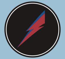 Red/Blue Lightning Bolt  Kids Clothes