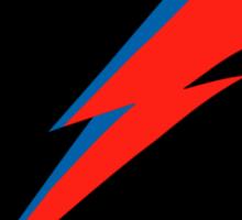 Red/Blue Lightning Bolt  Sticker