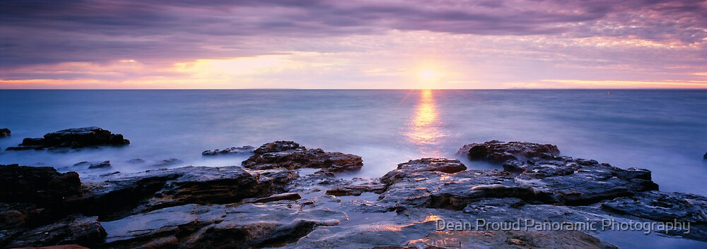 Evening Glory by Dean Prowd Panoramic Photography