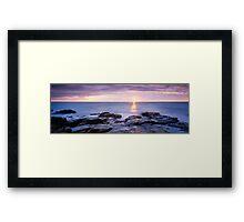 Evening Glory Framed Print