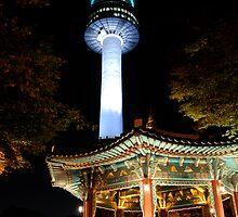 N Tower  by keystime42