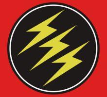 3 Lightning Bolt Superhero by coolvintage