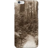 Walk the Lonely Path iPhone Case/Skin
