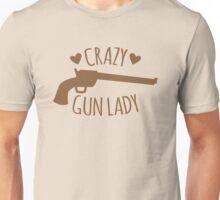 Crazy Gun Lady Unisex T-Shirt