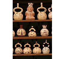 Peruvian Pottery Photographic Print