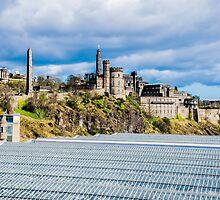 Calton Hill, Edinburgh, Scotland when viewed from North Bridge by Luke Farmer