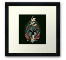 The inquisition reborn Framed Print