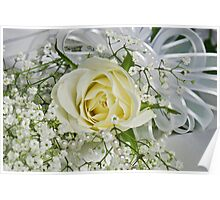 Wedding White Poster